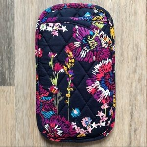 Vera Bradley Quilted Double Pocket Sunglasses Case